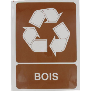 Brady Sticker recyclebaar hout - WB251296FR | 210 x 297 mm