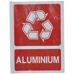 Brady Sticker recycle aluminium - WB251297 | Sticker | 210 x 297 mm