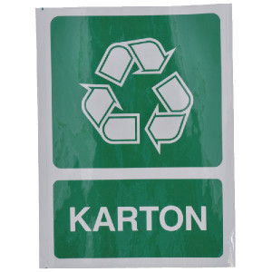 Brady Sticker recycle karton - WB251298 | Sticker | 210 x 297 mm