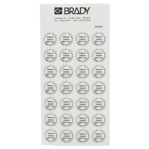 Brady Sticker NEN 3140 ø20 mm 28x - WB256290