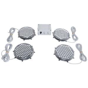 Lampenset actieraamwerk LED (4x) - WB60002 | 200 mm
