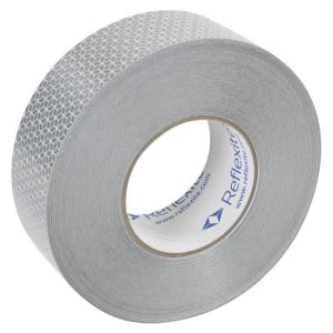 Mazon Reflecterende tape wit 50mm - WB82101