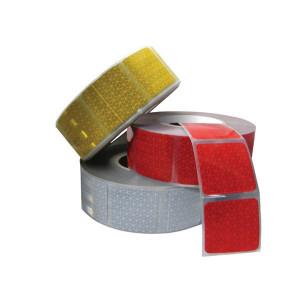 Mazon Reflecterende tape geel gesegmenteerd - WB8210550S