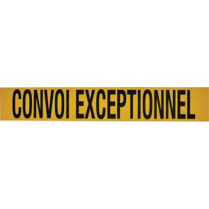 "Bord ""Convoi exceptionnel"" (niet voor België) - WB90003FR | 920 x 150 mm"