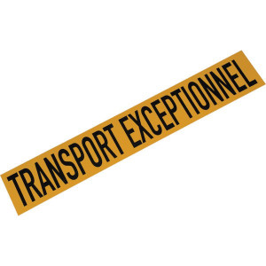 Mazon Bord TRANSPORT EXCEPTIONNEL - WB90004FR | Aluminium | 1000 x 160 mm