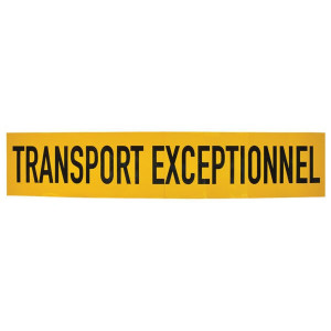 Mazon Sticker TRANSPORT EXCEPTIONNE - WB90101FR | Sticker | 1250x250 mm