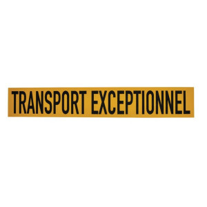 Mazon Sticker TRANSPORT EXCEPTIONNE - WB90104FR | Sticker | 1000x160 mm