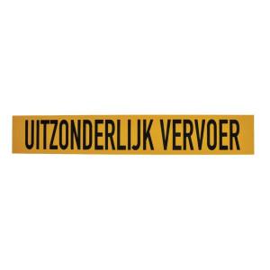 Mazon Sticker UITZONDERLIJK VERVOER - WB90104NL | Sticker | 1000x160 mm