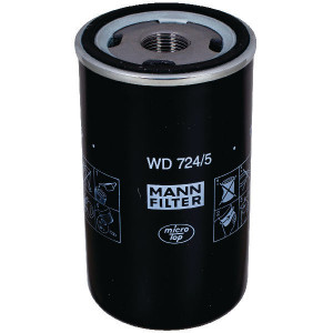 MANN-FILTER Hydrauliekoliewisselfilter - WD7245   WD 724/5   13/16-16 UN mm   62/71 mm