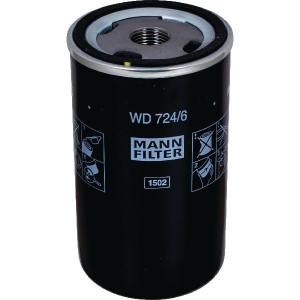 MANN-FILTER Hydrauliekfilter M&H - WD7246 | 0009830623 | 138 mm | WD 724/6 | 62/71 mm | 3/4-16 UNF mm