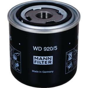 MANN-FILTER Hydrauliekoliewisselfilter - WD9205 | WD 920/5 | 62/71 mm | M 22 X 1.5 mm