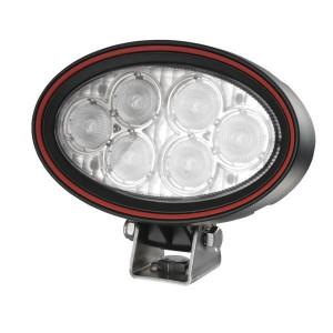 Weldex Werklamp LED - WDWL5R20DT20 | 9-36 V | 18 W | 1,25 A | 1.330 lm | 20 ° | IP69K IP | 160 mm | Deutsch