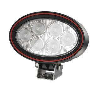 Weldex Werklamp LED - WDWL5R20DT40 | 9-36 V | 18 W | 1,25 A | 1.330 lm | Voorveldverlichting | 40 ° | IP69K IP | 160 mm | Deutsch
