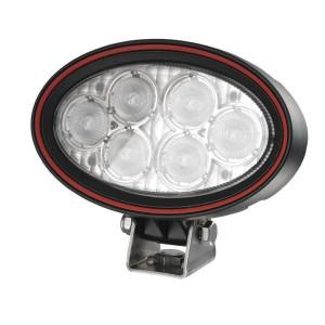 Weldex Werklamp LED - WDWL5R20DT | 9-36 V | 18 W | 1,25 A | 1.330 lm | Bodemverlichting | 60 ° | IP69K IP | 160 mm | Deutsch