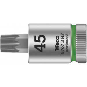 """Wera 8767 B HF TORX® Zyklop Bitdop met 3/8""""-aandrijving, met vasthoudfunctie, TX 27 x 107 mm - 05003065001"""