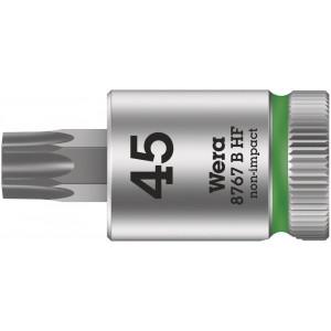"""Wera 8767 B HF TORX® Zyklop Bitdop met 3/8""""-aandrijving, met vasthoudfunctie, TX 40 x 35 mm - 05003068001"""