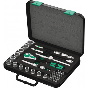 "Wera 8100 SB 4 Zyklop Speed-ratelset, 3/8""-aandrijving, inch, 38-delig - 05003596001"
