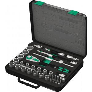 """Wera 8100 SC 2 Zyklop Speed-ratelset, 1/2""""-aandrijving, metrisch, 37-delig - 05003645001"""