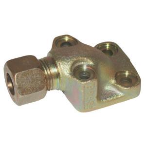 Voss Aansluitflens 15L - WFV15L40 | aansluitflens zuigzijde | 15 mm | 40 mm | 26,00 x 2,50 | 15 L mm