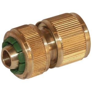 "Snelkoppeling 1/2"" - WK33041 | Messing | 1/2 inch | met klep"