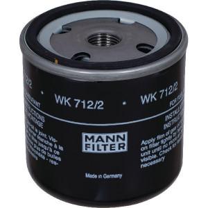 MANN-FILTER Brandstofwisselfilter - WK7122 | 71 mm C | WK 712/2 | M 16 X 1.5 mm | WK 712/2 | 62/71 mm