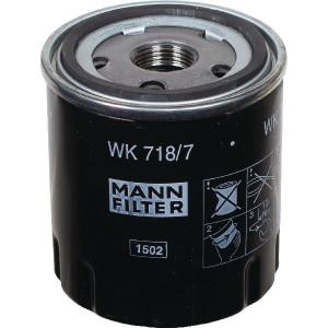 MANN-FILTER Brandstofwisselfilter - WK7187 | WK 718/7 | M 20 X 1.5 mm | WK 718/7 | 57/65 mm
