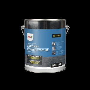 Tec7 WP7-101 Universeel Dakdicht, emmer, 4 liter - 602470000 | Vloeibaar membraan