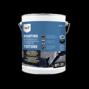 Tec7 WP7-301 Roofing Waterdicht, pot, 4.4 liter - 602205000 | Herstellingspasta voor roofingdaken