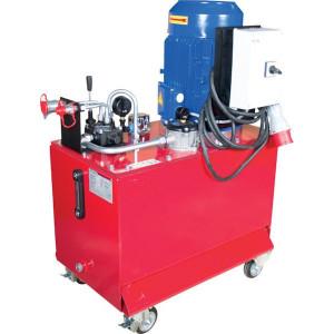 Werkplaatsaggregaat 75ltr-20l/min-7,5kW/400V - WP85C001 | 75 l ltr. | 19,5 l/min | 200 bar | 400/690V 50Hz | 14 cc/omw | 7,5 kW | 138 kg | 880 x 470 x 1100 mm