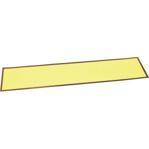 Nummerplaat geel sticker - WS1207 | 515 x 115 mm