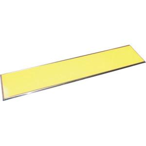 Nummerplaat aluminium geel - WS1208 | Aluminium | 520 x 115 mm