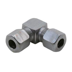 Voss Haakse koppeling 6S - WV6S | 2S snijring | DIN 2353 | Zink / Nikkel | 6 mm | 800 bar