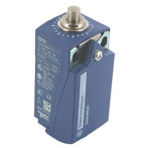 Schneider-Electric Eindschakelaar met metalen nok - XCKP2110P16 | Plastic | 0,27 A DC-13 220V | 5x10E6 schakelingen | 10x10E6 schakelingen | M16x1,5