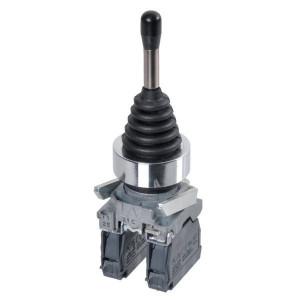 Schneider-Electric Joystick,2 richt., gearreteerd - XD4PA12 | Compleet met contacten | 0,5 A DC-13 24V | 1*10E6 schakelingen | 2x 1,5 mm² mm2 | 4 A AC-15 24V