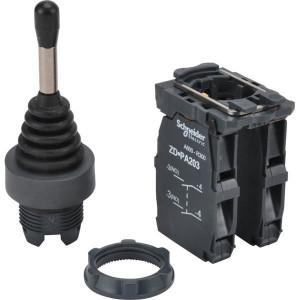 Schneider-Electric Joystick 4 pos 4xNO arreterend - XD5PA14 | 0,5 A DC-13 24V | 1x10E6 schakelingen | 4 A AC-15 24V