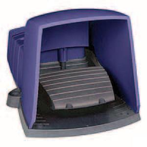 Schneider-Electric Pedaalschakelaar, kunststof - XPEB611 | 2x ISO M20 of PG13 | 0,27 A DC-13 220V | 10x10E6 schakelingen
