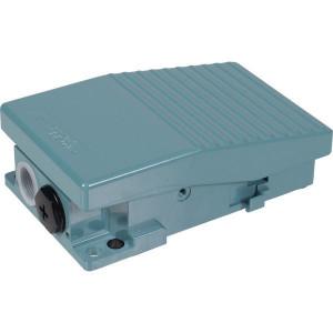 Schneider-Electric Pedaalschakelaar, metaal - XPEM110 | 2x PG16 | 0,27 A DC-13 220V | 15x10E6 schakelingen