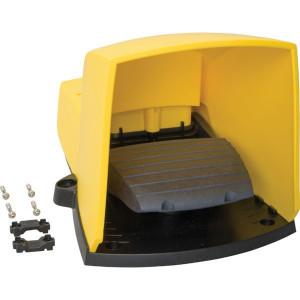 Schneider-Electric Pedaalschakelaar, kunststof - XPEY310 | 2x ISO M20 of PG13 | 0,27 A DC-13 220V | 5x10E6 schakelingen