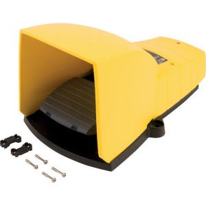 Schneider-Electric Pedaalschakelaar, kunststof - XPEY311 | 2x ISO M20 of PG13 | 0,27 A DC-13 220V | 5x10E6 schakelingen