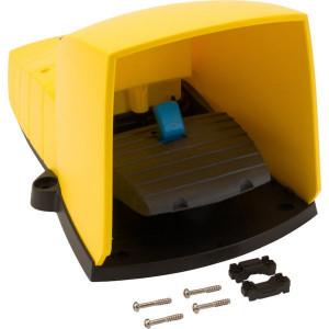 Schneider-Electric Pedaalschakelaar, kunststof - XPEY510 | 2x ISO M20 of PG13 | 0,27 A DC-13 220V | 5x10E6 schakelingen