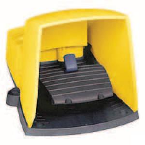 Schneider-Electric Pedaalschakelaar, kunststof - XPEY511 | 2x ISO M20 of PG13 | 0,27 A DC-13 220V | 5x10E6 schakelingen