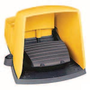 Schneider-Electric Pedaalschakelaar, kunststof - XPEY611 | 2x ISO M20 of PG13 | 0,27 A DC-13 220V | 5x10E6 schakelingen
