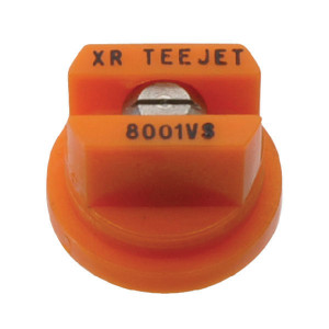 TeeJet Spleetdop XR 80° oranje RVS - XR8001VS | Zeer goede slijtvastheid | 1 4 bar | 8 mm | Oranje | 80°