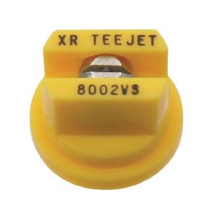 TeeJet Spleetdop XR 80° geel RVS - XR8002VS | Zeer goede slijtvastheid | 1 4 bar | 8 mm | 80°