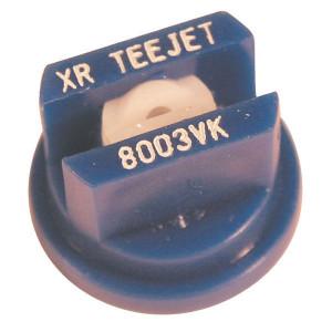 TeeJet Spleetdop XR 80° blauw keramisch - XR8003VK | Zeer goede slijtvastheid | 1 4 bar | 8 mm | Keramisch | 80°