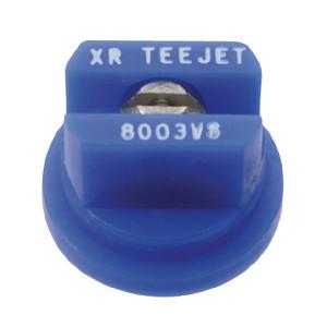 TeeJet Spleetdop XR 80° blauw RVS - XR8003VS | Zeer goede slijtvastheid | 1 4 bar | 8 mm | 80°