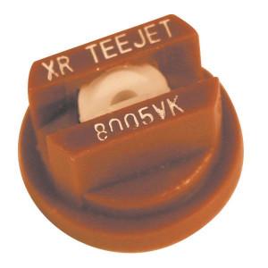 TeeJet Spleetdop XR 80° bruin keramisch - XR8005VK | Zeer goede slijtvastheid | 1 4 bar | 8 mm | Keramisch | 80°