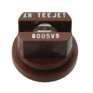 TeeJet Spleetdop XR 80° bruin RVS - XR8005VS | Zeer goede slijtvastheid | 1 4 bar | 8 mm | 80°
