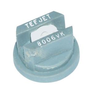 TeeJet Spleetdop XR 80° grijs keramisch - XR8006VK | Zeer goede slijtvastheid | 1 4 bar | 8 mm | Keramisch | 80°