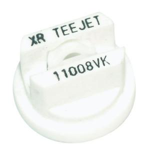 TeeJet Spleetdop XR 80° wit keramisch - XR8008VK | Zeer goede slijtvastheid | 1 4 bar | 8 mm | Keramisch | 80°